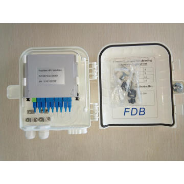 8D Fiber Optical ABS PC Distribution Box